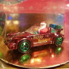 Vintage Hot Wheels 1996 Collector Edition Holiday Christmas Porshe Santa New
