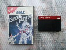 Jeu Master System / Ms Game Cyborg hunter + boite PAL retrogaming SEGA original*