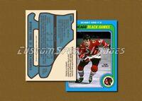 Bobby Orr - Chicago Black Hawks - Custom Hockey Card  - 1978-79