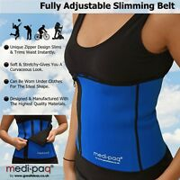 5 Zip Adjustable Slimming Back Support Belt Brace - Slim Slimmer Waist Corset