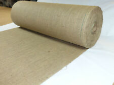 "10m X 72"" Hessian Jute Burlap Fabric Roll Craft Bags Upholstery Wedding 10oz"