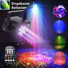 Laser Bühnenbeleuchtung LED RGB + UV 120 Muster Projektor DJ Club Party Licht