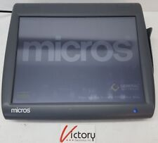 Used Micros Workstation 5 System Unit400814 001touch Screen Withwindows V 14