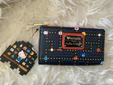 NEW Loungefly Hello Kitty Pac Man Maze Card Long Wallet RARE