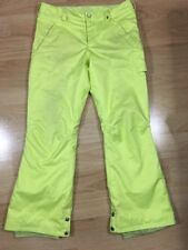 Burton Snowboarding Pants Youth Xl Yellow ID Tag Holder