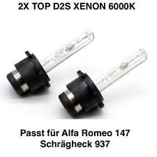 2x d2s 6000k 35w XENON TÜV LIBERO ALFA ROMEO 147 posteriore acciaio per 937