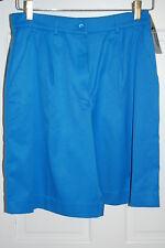 Tail Ladies Shorts Royal Blue Golf Tennis Sport Shorts Microfiber