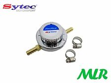 SYTEC PRO-FLOW 8MM 1-5PSI FUEL PRESSURE REGULATOR FOR FACET CARB FUEL PUMPS GZ