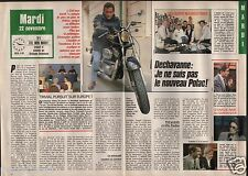 Coupure de presse Clipping 1988 Christophe Dechavanne * (2 pages)