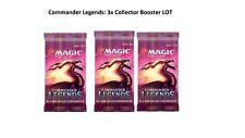 *PRE-ORDER* MTG Magic: COLLECTOR BOOSTER PACKS LOT x3 - COMMANDER LEGENDS (COM)