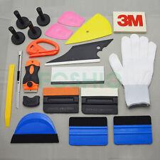 PRO Car Wrap Vinyl Tools Kit Scratch-free Squeegee Scraper Razor Glove Magnets