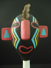Native American Art-Hopi Painted Gourd Rattle