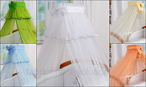 Luxury Canopy Drape/Moskito Net suitable for Cots, Cor Beds, Cribs SALE!!!