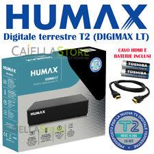 HUMAX DIGIMAX LT DECODER RICEVITORE DIGITALE TERRESTRE T2 HEVC H.265 10 BIT