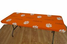 "Clemson Tigers College Covers 8' Table Cover - 95"" x 30"""