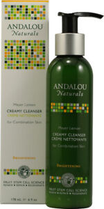 Meyer Lemon Creamy Cleanser by Andalou Naturals, 6 oz