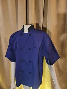 Hapy Chef Unisex Purple Chef Frock Size Medium