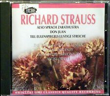 R. Strauss: Also Sprach Zarathustra, etc / Ormandy, Previn (CD, Apr-1994, EMI)