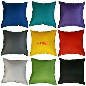 Waterproof Garden Cushion Furniture Outdoor Indoor Seats Cushion Filled