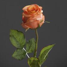 Rose-Brasil orange gross 57cm Kunstblume