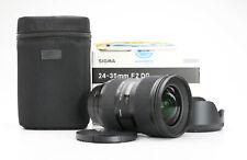 Canon Sigma Art 24-35 mm F2 DG HSM + TOP (226827)