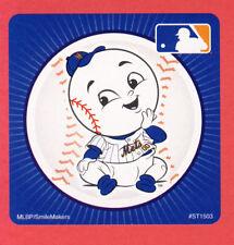 10 New York Mets Mascot - Large Stickers - Major League Baseball