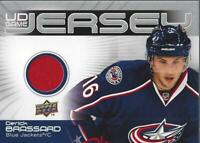 2010-11 Upper Deck Game Jerseys #GJBR Derick Brassard Jersey - NM-MT