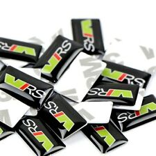Skoda V RS badges pegatinas 1 x 2 cm skoda RS 4 trozo