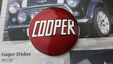 CLASSIC MINI JOHN COOPER WORKS S SI BOOT BADGE RED ENAMEL MPI SPI 1275 CLASSIC