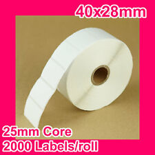 4 rolls of 40x28mm Thermal Direct Label for Zebra/TSC/SATO/DATA MAX/Intermec
