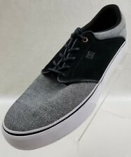 DC Mikey Taylor Skateboard Sneakers Vulc TX SE Mens Grey Black Shoes Sz 13 NWOB