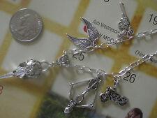 Walking Dead Daryl Skull Crossbow Skull Wings Gun Necklace