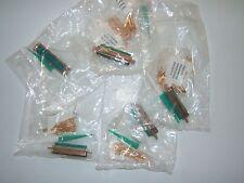 CINCH MIL SPEC D- SUB CONNECTORS. 5 LOT M24308/4-5F. 50 POSITION NOS SEALED NEW.