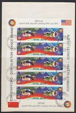 Bhutan 1975 FDC Mi.624/25 B Klbg. Weltraum Space Espace Apollo-Sojus