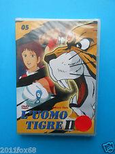 dvd's tiger man II # 05 uomo tigre II n. 5 ikki kajiwara naoki tsuji dvd sealed
