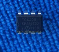 10pcs TC4420CPA TC4420 ORIGINAL 6A High-Speed MOSFET Drivers