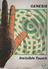 GENESIS - INVISIBLE TOUCH  virgin  GEN LP2 1986 LP   IT