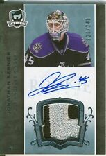 07-08 The Cup Jonathan Bernier Auto Sweet Patch Rookie Card RC #128 220/249