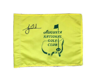 Augusta National Golf Club Souvenir Pin Flag w/ Tiger Woods 2020 Masters
