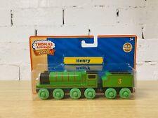 Henry - Thomas & Friends Wooden Railway Trains RARE Brand New WIDEST RANGE