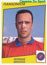 276 LEONIDAS VOKOLOS GREECE PANIONIOS.FC RARE STICKER PODOSPHAIRO 1998 PANINI