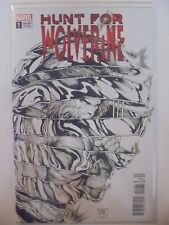 Hunt for Wolverine #1 1:50 McNiven B&W Variant Marvel VF/NM Comics Book