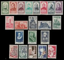 FRANCE STAMPS MLH/MH LOT OF 21 VALUES ,CV:$92.00