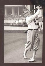 REAL PHOTO BOBBY JONES 1920s WORLD'S GREATEST GOLFER GOLF POSTCARD COPY