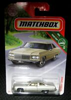2018 MATCHBOX 1975 MET GOLD CHEVROLET CAPRICE COUPE 2DR ROAD TRIP HTF MIB
