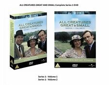 ALL CREATURES GREAT AND SMALL Complete Series Season 1 DVD James Herriot UK R2