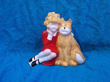 Vintage Annie Coin Bank Figurine by Applause 1982