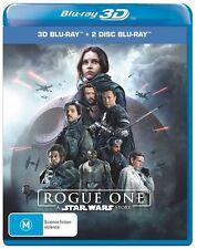 Rogue One A Star Wars Story 3D + 2D Blu-ray BRAND NEW SEALED Region B