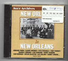 (JE697) Jazz Archives No 68, New Orleans In New Orleans, 23 tracks - 1993 CD