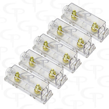 LOT OF 5 ANL Fuse block fuse holder GP Audio